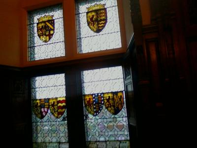 Edinburgh castle Glasswork