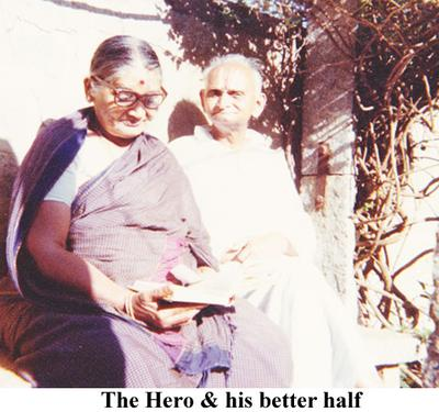 The Hero and his spouse.