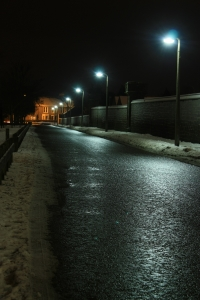 Lonely streets...