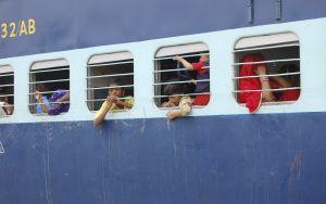 Train journey in Indian Railways