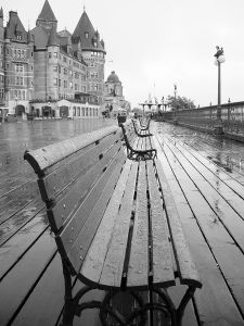 Memories and Vacant streets after rain...