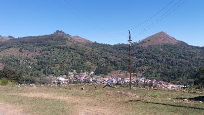 Thandikudi village top view